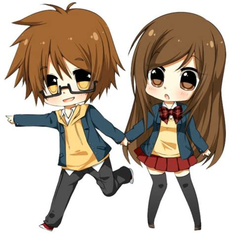 anime chibi pictures anime anime chibi couples pictures 1