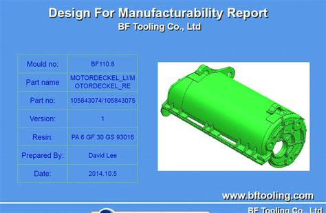 dfm design for manufacturing pdf design engineering bf tooling co ltd