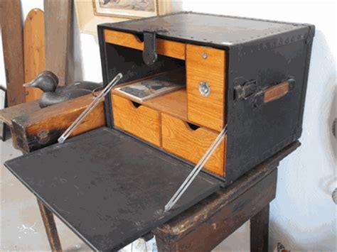 portable field desk army surplus chic