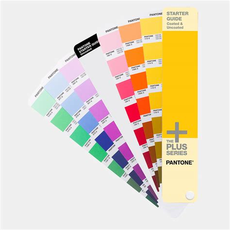 pantone color guide pantone starter guide solid coated uncoated