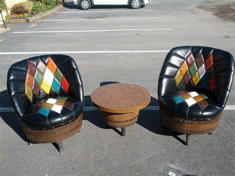 whiskey barrel chairs for sale unavailable listing on etsy