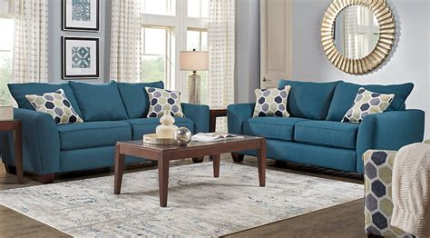 Blue Living Room Sets by Bonita Springs 8 Pc Blue Living Room Living Room Sets Blue