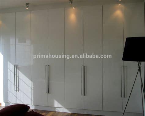 One Door Wardrobe Closet Bedroom Closet Wood Built In Wardrobe Cabinet With Sliding