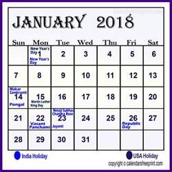 Calendar 2018 January Template January 2018 Calendar Excel In Templates Pdf And Printable