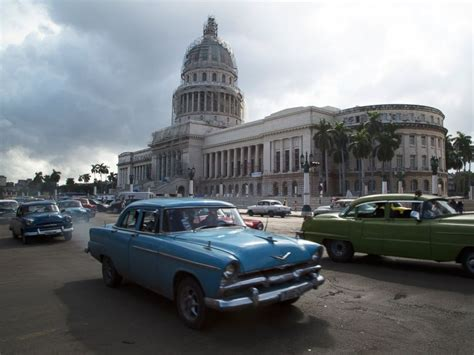 cuba now cuban landmarks in photos then and now abc news