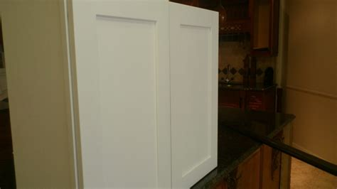 Cer Cabinets by Snow White Maple Shaker Kitchen Cabinets