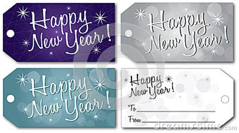 new year 2016 gift tag happy new year gift tag vector stock vector image 63416945