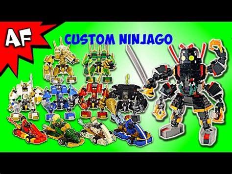 Brick Diazuan Lego Comp Ninjago Gold Suit Vehicle custom lego ninjago mechs go karts complete collection xem clip nhất 2017