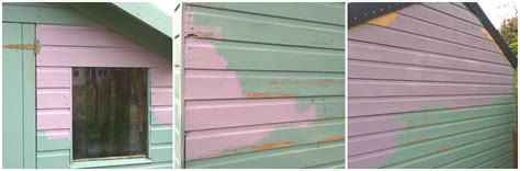 Shed Roofing Felt B Q by Garden Shed Makeover With Valspar Paint Mummy S
