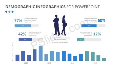 Demographic Infographics For Powerpoint Pslides Demographic Infographic Template Powerpoint