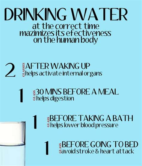 How Many Times A Day Should You Drink Detox Water by Water Facts For Fiction