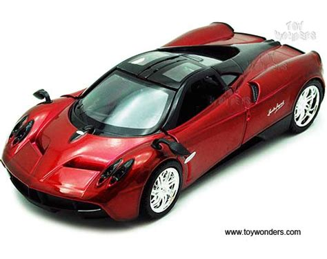 pagani huayra by showcasts 1 24 scale diecast model car