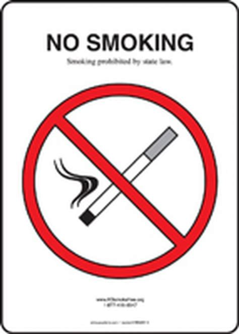 no smoking sign kansas safety signs safety tags and safety labels by accuform signs