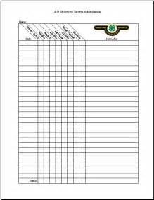 blank attendance sheet template downloadable blank monthly attendance sheet calendar