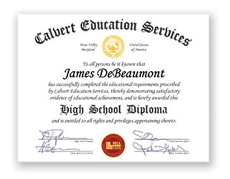 High School Diploma Online Pictures To Pin On Pinterest Pinsdaddy Maryland High School Diploma Template
