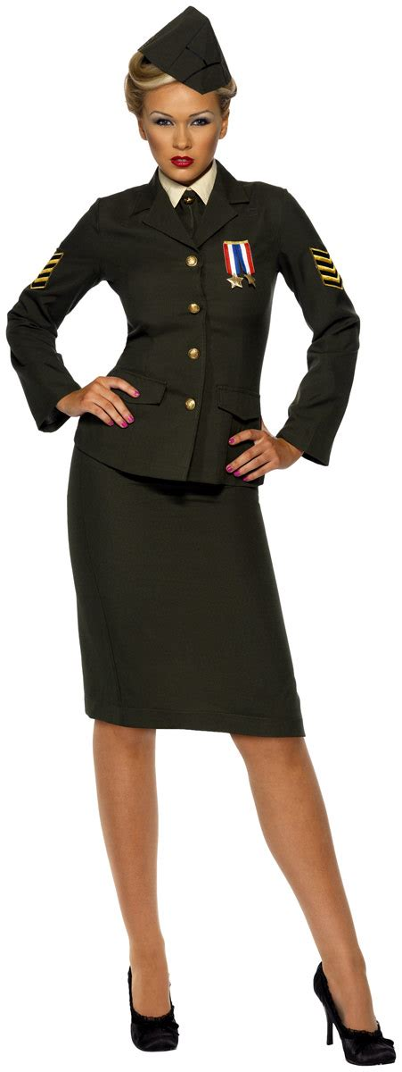 Officer Costume by Wartime Officer Costume 35335 Fancy Dress