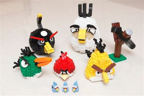carime angri fan builds entire angry birds set out of lego bricks