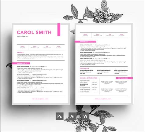 business letter template psd 33 best stylish resumes images on resume