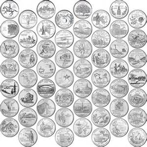 united states map for state quarters those 6 best state quarters those6things