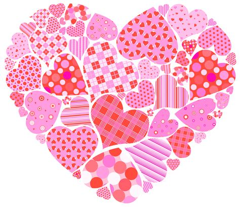 images valentines s day clipart pink hearts pencil and