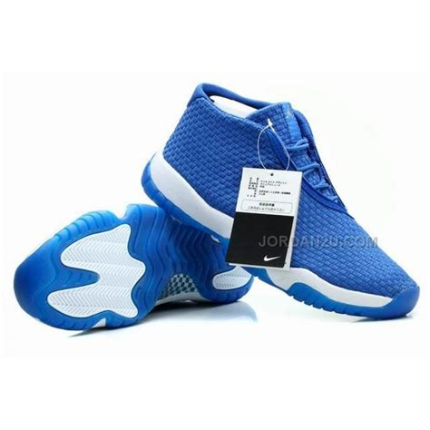 future jordans shoes air future glow royal for sale price 96 00 new
