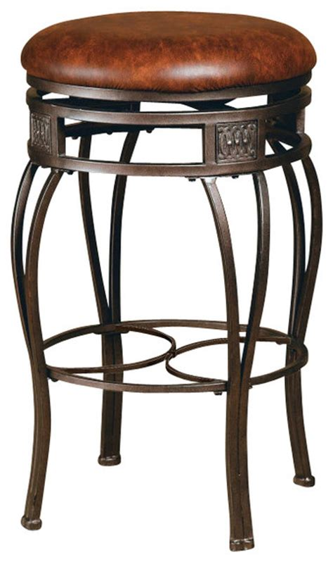 26 inch backless swivel counter stools hillsdale montello backless swivel 26 inch counter height