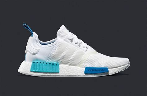 nmd r1 light blue adidas wmns nmd r1 white blue glow sneakerb0b releases