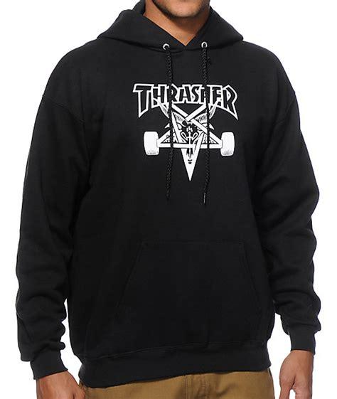 Hoodie Thrasher Jaket Thrasher Sweater Thrasher thrasher skategoat hoodie zumiez