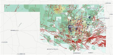 earthquake fault lines map oklahoma fault lines map my blog