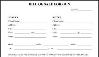 Firearm Bill Of Sale Template by Bill Of Sale Httpwwwrccomfree Printable Boat Pictures