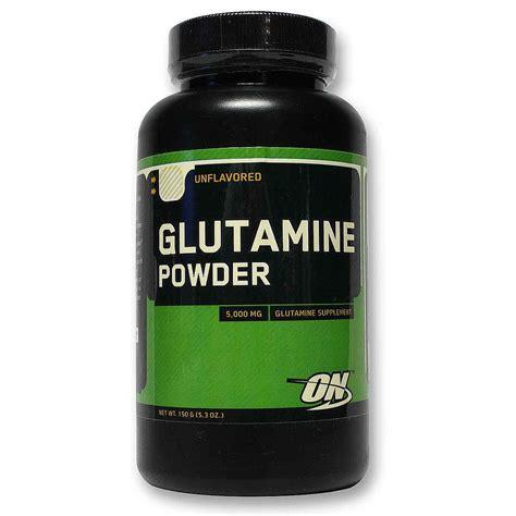 Detox From Glutamine by Optimum Nutrition Glutamine Powder 150 Grams Evitamins