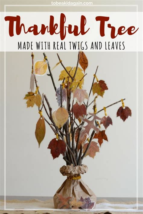 thankful tree craft for thankful tree thanksgiving centerpiece for to be a