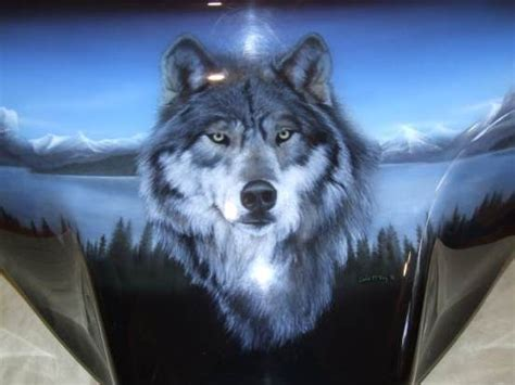 harley wolf for two 172 best awesome paint jobs images on pinterest