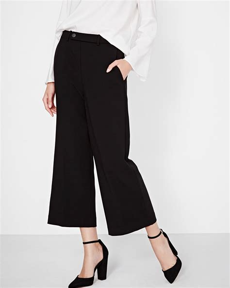 Cropped Leg cropped wide leg pant rw co