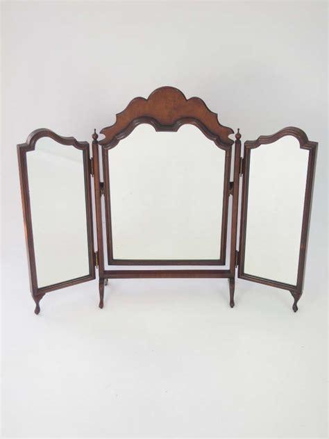 folding dressing table mirror walnut folding dressing table mirror for sale