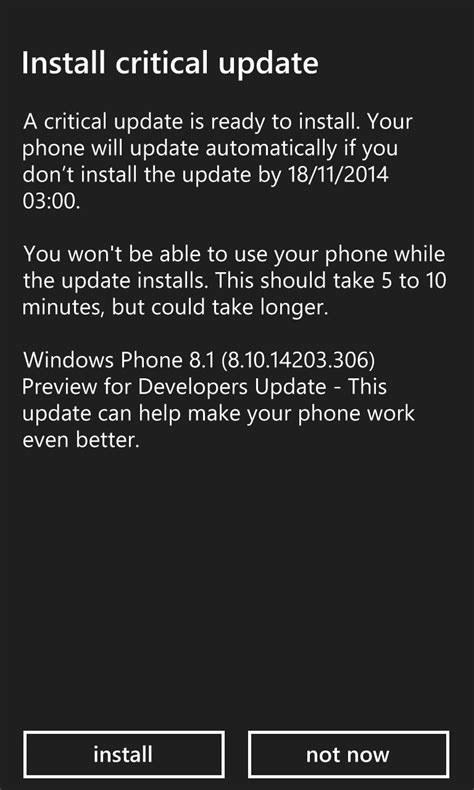 new wp 8 1 update 1 developer preview brings battery
