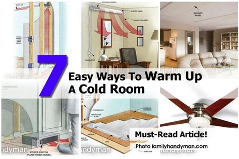 cold bedroom 7 easy ways to warm up a cold room