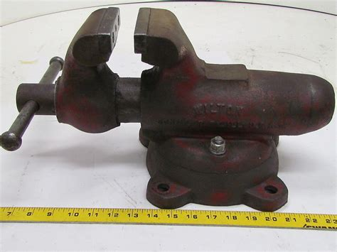 wilton bench vice wilton 101028 4 inch swivel base bullet bench vise ebay