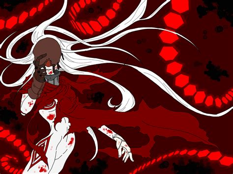 red man deadman wonderland shiro wallpaper deadman wonderland by foxninja18 on