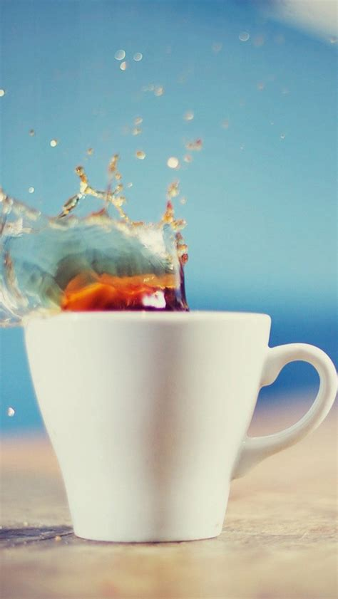 coffee cup iphone wallpaper food drinks top iphone 5 wallpapers com part 5