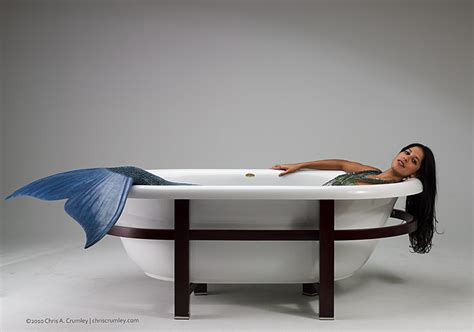 351 bathtub mermaid indoors
