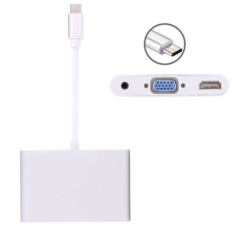 Usb 3 1 Type C To Vga Adapter usb 3 1 type c to vga hdmi 3 5mm audio adapter