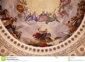 Interior Designers In Usa us capitol dome rotunda apothesis washington dc stock