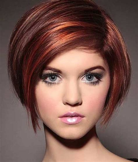 bob haircuts with red highlights 10 bob hairstyles with color bob hairstyles 2017 short