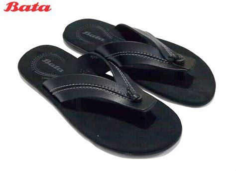 jual bata summer 6625 sandal jepit pria hitam