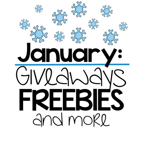 Freebies And Giveaways - kickstart your january freebies and giveaway little minds at work
