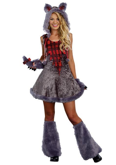 wolf costume moon sassy costume