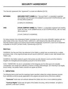 security templates 7 security contract templates free word pdf format