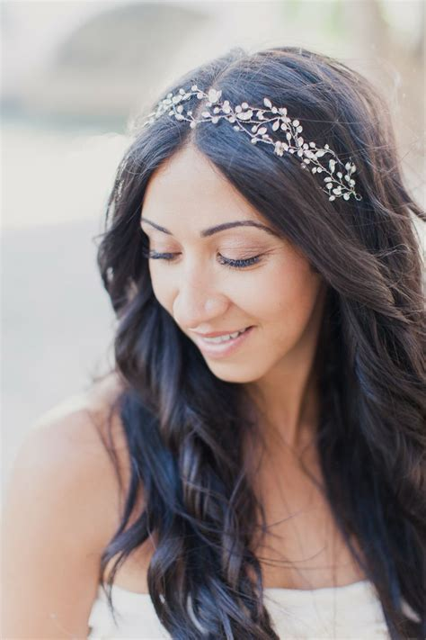 hairstyles for long hair on one piece romantic diamond headbands because you deserve to look