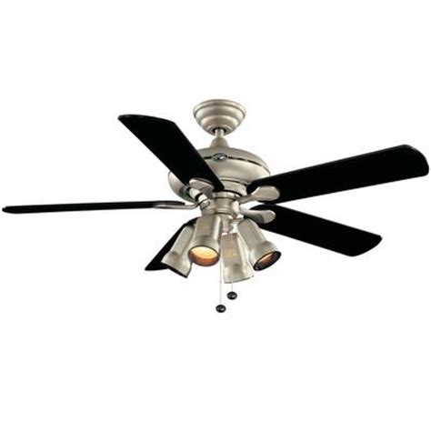 Home Depot Canada Ceiling Fans Hton Bay Redington Brushed